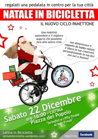 Babbo Natale In Bicicletta.Babbo Natale In Bicicletta Il 22 Dicembre Tevere In Bici