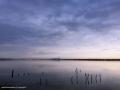 Lago di Fogliano: lungolago lato via del Lido