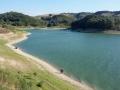 16_L'ultimo tratto del bacino artificiale di Corbara con pescatori...