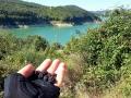 21_Si riparte ...con scorta di more sul lago di Montedoglio!